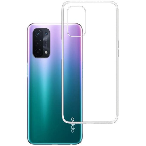 Etui 3MK Clear Case do Oppo A54 5G Przezroczysty