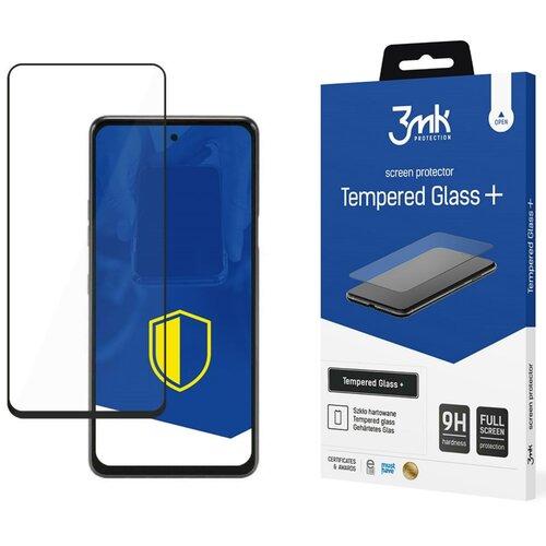 Szkło hartowane 3MK Tempered Glass+ do LG Q92 5G Czarny