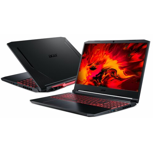"Laptop ACER Nitro 5 AN515-55 15.6"" IPS 144Hz i7-10750H 16GB SSD 512GB GeForce RTX3060"