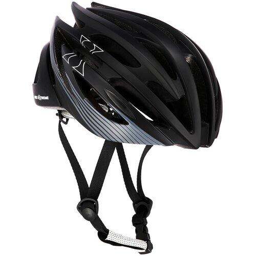 Kask rowerowy NILS EXTREME MTW24 Czarny MTB (rozmiar M)