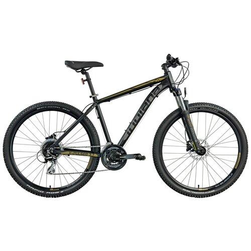 Rower górski MTB INDIANA X-Pulser 3.7 M18 27.5 cala męski Czarno-brązowy