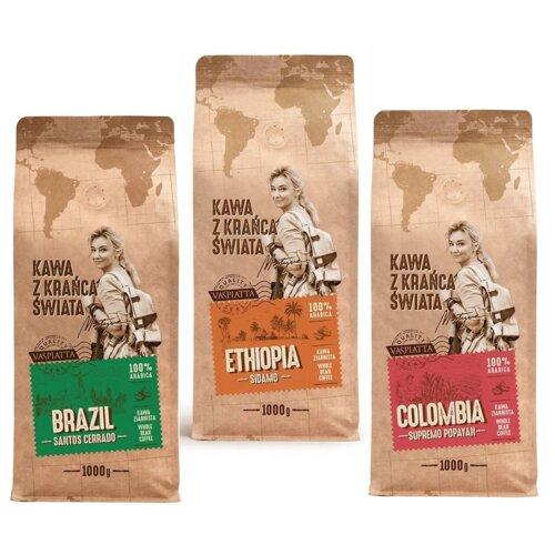 Zestaw kaw Z Krańca Świata 3 kg