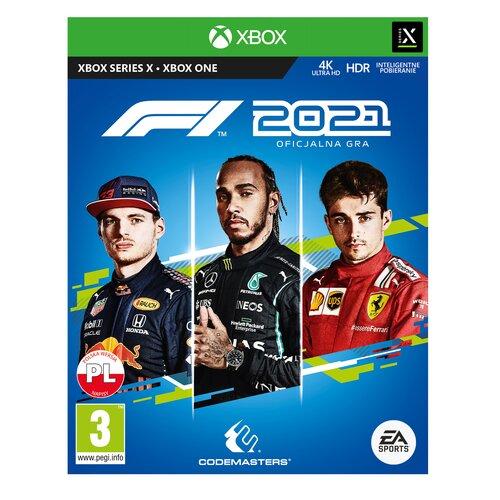 F1 2021 Gra XBOX ONE (Kompatybilna z Xbox Series X)