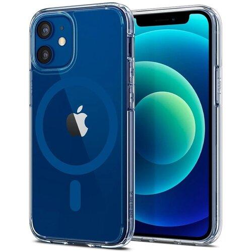 Etui SPIGEN Ultra Hybrid Mag MagSafe do Apple iPhone 12/12 Pro Niebieski