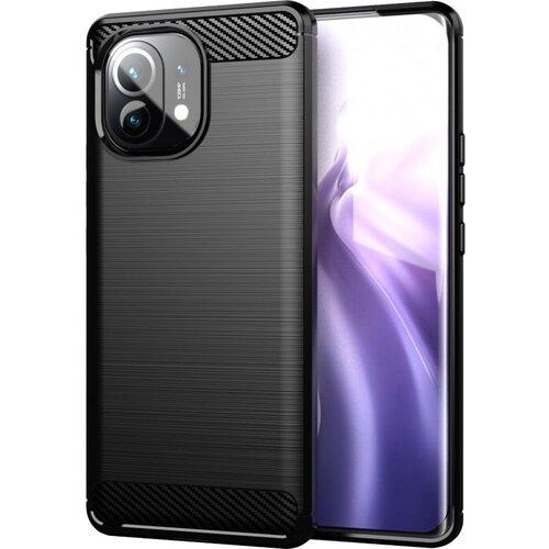 Etui WINNER GROUP Carbon do Xiaomi Mi 11 Lite 5G Czarny