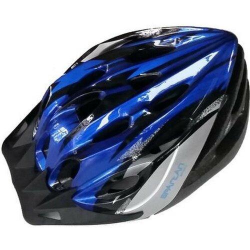 Kask rowerowy SPARTAN 30706 Niebiesko-czarny MTB (rozmiar L)