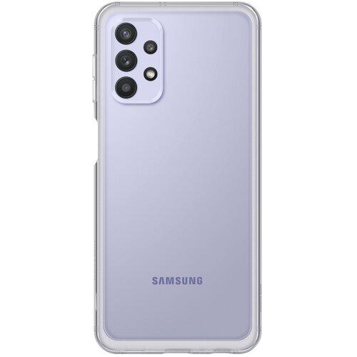 Etui SAMSUNG Soft Clear Cover do Samsung Galaxy A32 LTE EF-QA325TTEGEU Przezroczysty