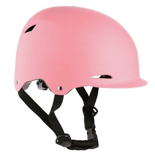 Kask rowerowy NILS EXTREME MTW02 Różowy dla Dzieci (rozmiar XS)