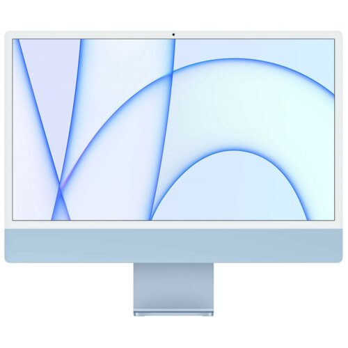 """Komputer APPLE iMac 24 4k 23.5"""" Retina M1 8GB SSD 256GB macOS Niebieski"""
