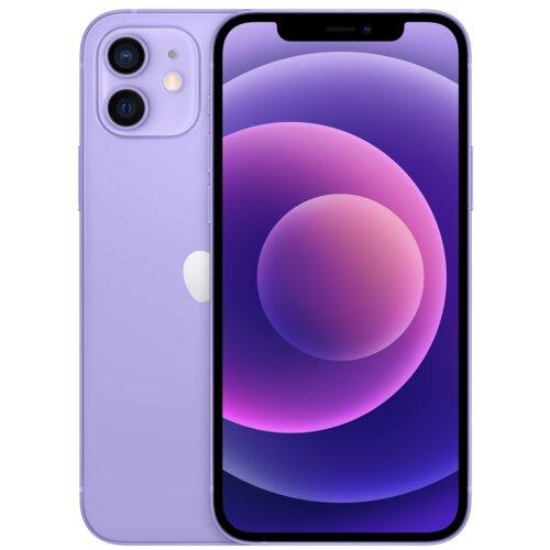 "Smartfon APPLE iPhone 12 64GB 5G 6.1"" Fioletowy MJNM3PM/A"