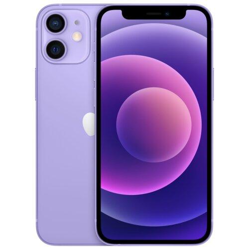 """Smartfon APPLE iPhone 12 mini 64GB 5G 5.4"""" Fioletowy MJQF3PM/A"""