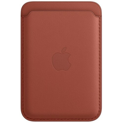 Etui APPLE Leather Wallet z Magsafe do iPhone 12 Pustynna glina