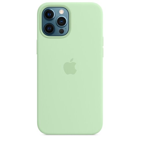 Etui APPLE Silicone Case MagSafe do iPhone 12 Pro Max Pistacjowy