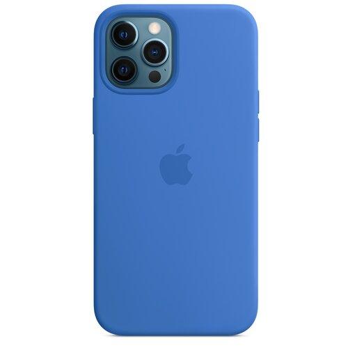 Etui APPLE Silicone Case MagSafe do Apple iPhone 12 Pro Max Adriatycki błękit