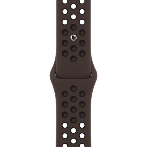Pasek APPLE do Watch Nike (38/40 mm) Ironstone / Czarny