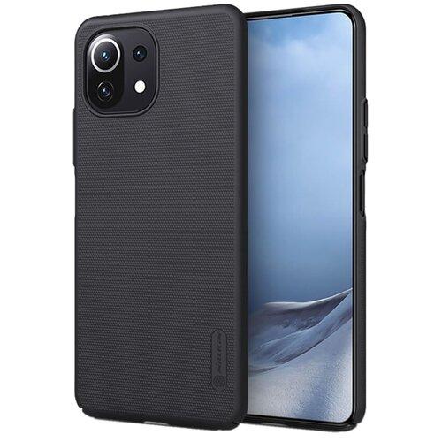 Etui NILLKIN Frosted Shield do Xiaomi Mi 11 Lite/Mi 11 Lite 5G Czarny