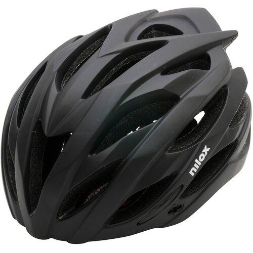 Kask rowerowy NILOX NX LED Czarny (rozmiar L)