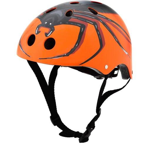 Kask rowerowy HORNIT Spider Pomarańczowy dla Dzieci (rozmiar M)