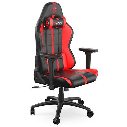 Fotel SPC GEAR SR400 Czarno-Czerwony