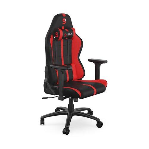 Fotel SPC GEAR SR400F Czarno-czerwony