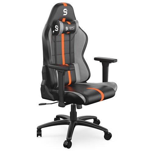 Fotel SPC GEAR SR400 Czarno-Pomarańczowy