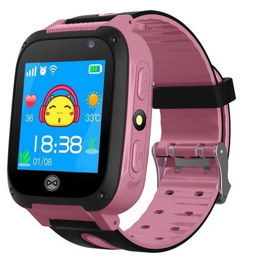 Smartwatch FOREVER Phone Me KW-55 Różowy