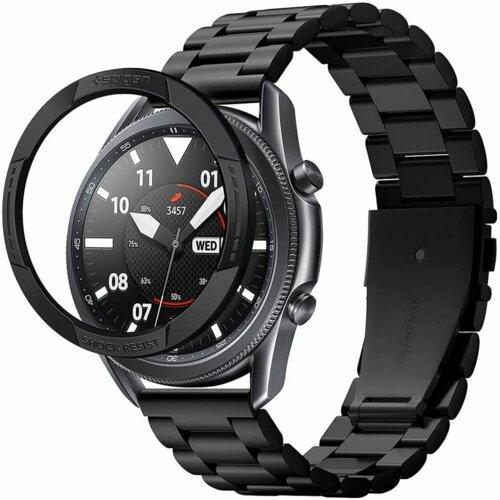 Nakładka SPIGEN Chrono Shield do Samsung Galaxy Watch 3 45mm Czarny