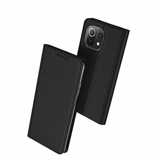 Etui DUXDUCIS Skinpro do Xiaomi Mi 11 Lite/Mi 11 Lite 5G Czarny