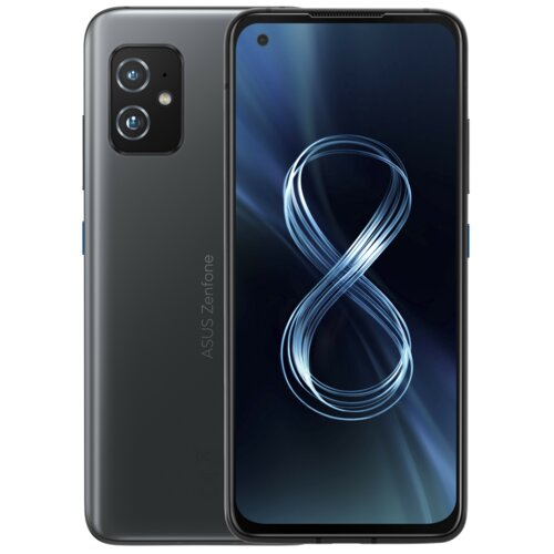 Smartfon ASUS Zenfone 8 8/256GB 5G 5.9″ 120Hz Czarny ZS590KS-2A009EU