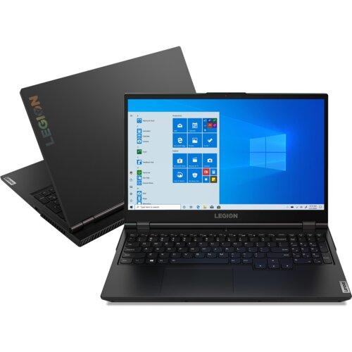 "Laptop LENOVO Legion 5 15ARH05 15.6"" IPS R7-4800H 8GB SSD 512GB GeForce 1650Ti Windows 10 Home"