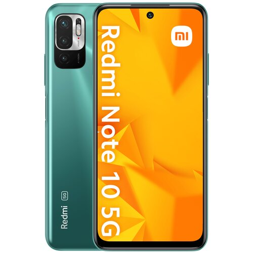 """Smartfon XIAOMI Redmi Note 10 4/128GB 5G 6.5"""" 90Hz Zielony 33257"""