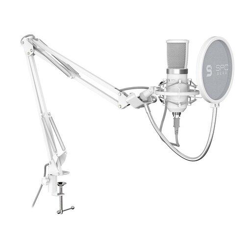 Mikrofon SPC GEAR SM950 Biały