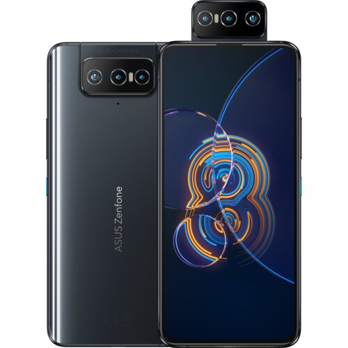 Smartfon ASUS Zenfone 8 Flip 8/256GB 5G 6.67″ 90Hz Czarny ZS672KS-2A003EU