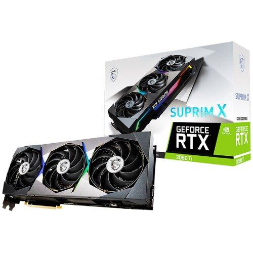 Karta graficzna MSI GeForce RTX 3080 Ti Suprim X 12GB