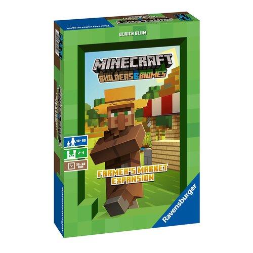 Gra planszowa RAVENSBURGER Minecraft Rynek Farmera - dodatek do gry