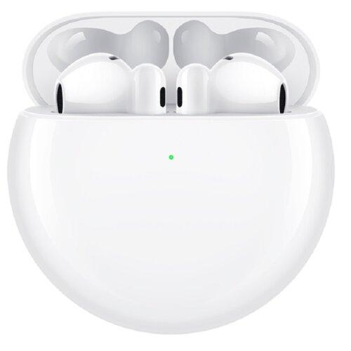Słuchawki douszne HUAWEI FreeBuds 4 ANC Biały