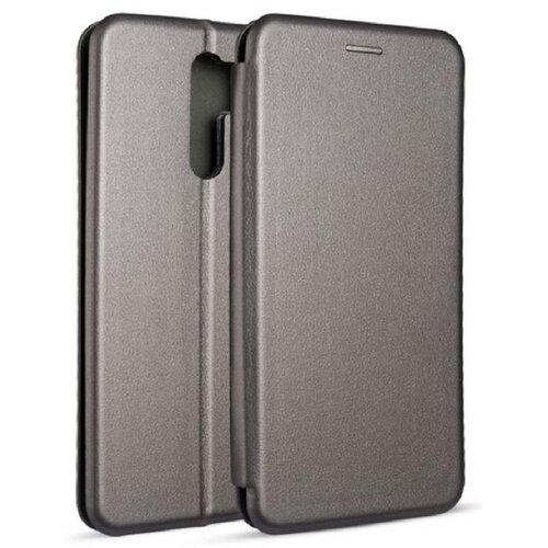 Etui BOOK MAGNETIC do Xiaomi Redmi 9 Stalowy