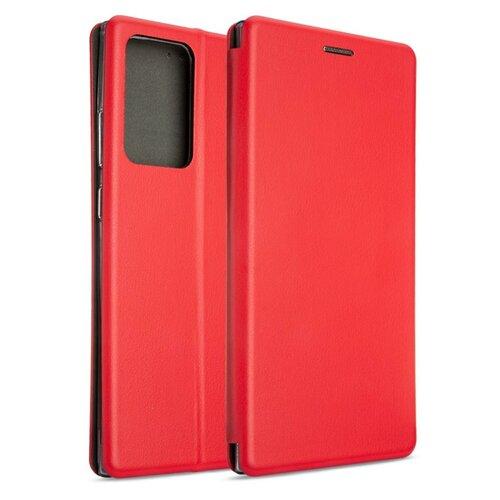 Etui BOOK MAGNETIC do Samsung Galaxy Note 20 Ultra Czerwony