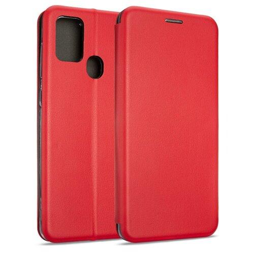 Etui BOOK MAGNETIC do Samsung Galaxy A21s Czerwony