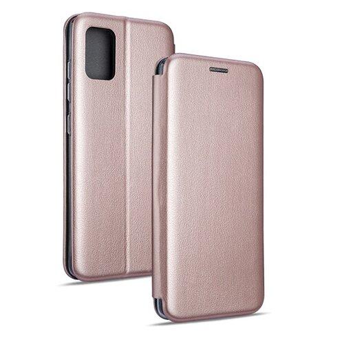 Etui BOOK MAGNETIC do Samsung Galaxy M51 Różowo-złoty