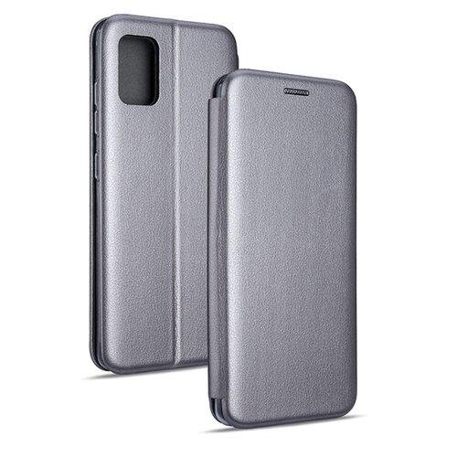 Etui BOOK MAGNETIC do Samsung Galaxy Note 20 Ultra Stalowy