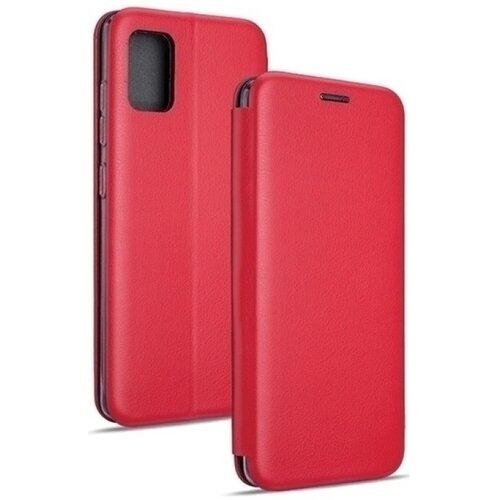 Etui BOOK MAGNETIC do Samsung Galaxy M51 Czerwony