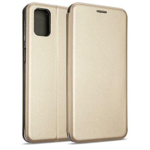 Etui BOOK MAGNETIC do Samsung Galaxy M51 Złoty