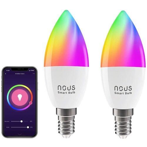 Inteligentna żarówka LED NOUS P4 4.5W E14 WiFi (2 szt.)