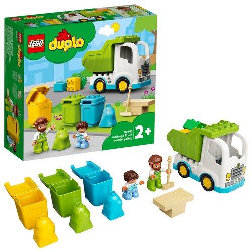 LEGO Duplo Śmieciarka i recykling 10945