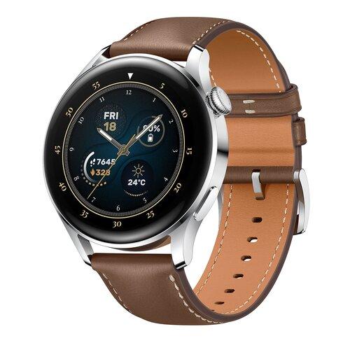 Smartwatch HUAWEI Watch 3 Classic LTE Brązowy