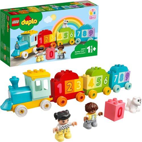 LEGO Duplo Pociąg z cyferkami - nauka liczenia 10954