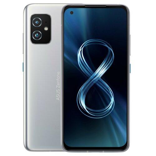 "Smartfon ASUS ZenFone 8 8/256GB 5G 5.9"" 120Hz Srebrny ZS590KS-8J010EU"