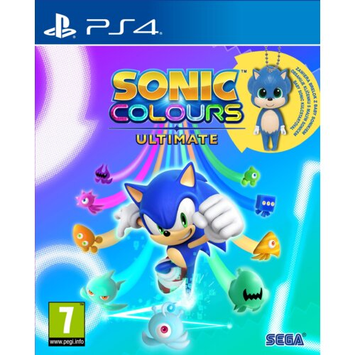 Sonic Colours Ultimate - Edycja Limitowana Gra PS4 (Kompatybilna z PS5)