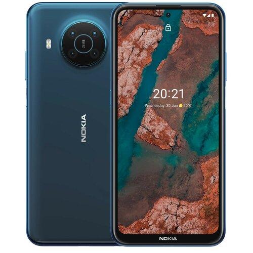 """Smartfon NOKIA X20 DS 8/128GB 6.67"""" 5G Niebieski"""